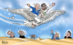 Israel-UAE peace deal by Paresh Nath