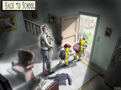 Back to School by Sean Delonas