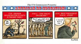 American Re-Education by Peter Kuper