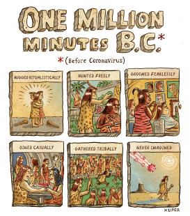 One Million B.C. by Peter Kuper