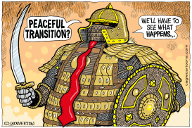 Peaceful Transition by Monte Wolverton