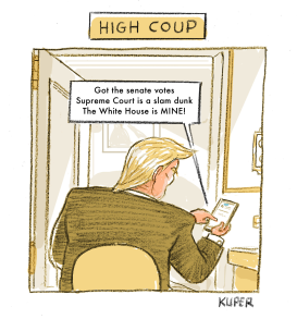 Haiku, High Coup by Peter Kuper