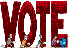 VOTE by Daryl Cagle