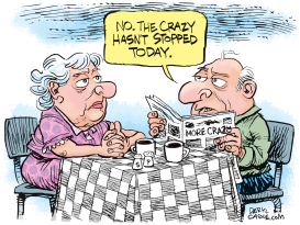 Stop the Crazy by Daryl Cagle