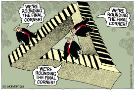 Rounding the Final Corner by Monte Wolverton