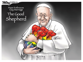 Pope and Gay Marriage by Bill Day
