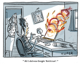 Google Antitrust by Peter Kuper