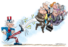Bad Pollsters by Daryl Cagle