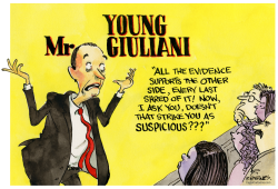 Young Mr. Giuliani by Pat Byrnes