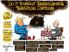 Thanksgiving Transition by Daryl Cagle