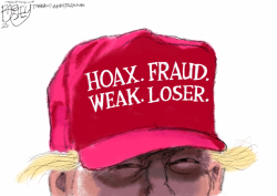 MAGA Hat by Pat Bagley