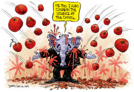 Sedition Tomatoes  by Daryl Cagle