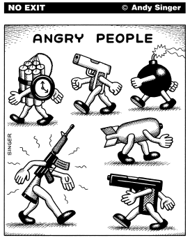 Angry People by Andy Singer