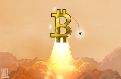 Bitcoin hits fresh high by Luojie