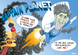 Captain Planet john kerry by NEMØ