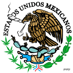 Mexico legalizes cannabis by Rainer Hachfeld