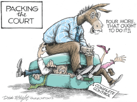 Packing The Court by Dick Wright