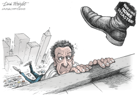 Cuomo Going Down by Dick Wright