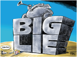 The Big Lie by Dave Whamond