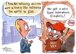Anti Vaxx by Guy Parsons