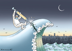 Crushing the Wave by Marian Kamensky