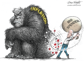 Inflation Gorilla by Dick Wright