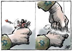 Israel-Palestine conflict by Jos Collignon