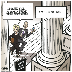 Fundraising Recess- by RJ Matson