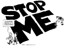 Stop Me - Virginia Tech Shootings by Daryl Cagle