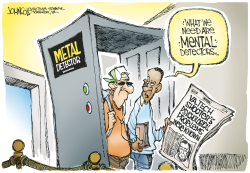 Mental detector -- color by John Cole