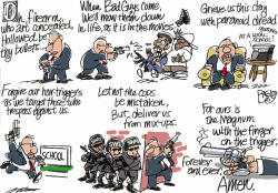 The Lord is My Handgun by Pat Bagley