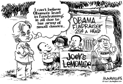 Obama fundraising by Jimmy Margulies