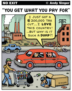 You Get What You Pay For in Taxes by Andy Singer