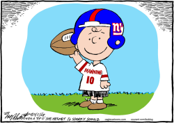 New York Giants  by Bob Englehart