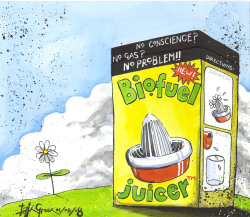 Biofuel Juicer by Iain Green