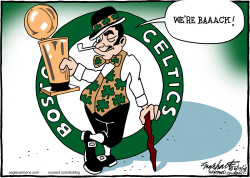 Boston Celtics  by Bob Englehart
