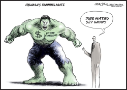 Obamas running mate by J.D. Crowe