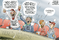 World Series winners  by John Cole