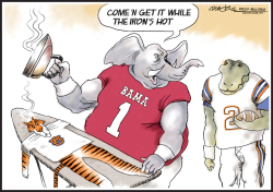 Alabama 1 vs Florida 2 by J.D. Crowe