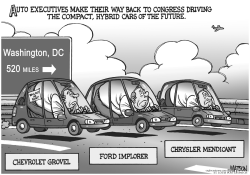 Auto Execs Return To Washington by RJ Matson