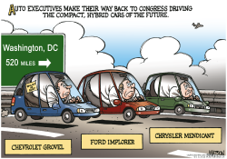 Auto Execs Return To Washington- by RJ Matson