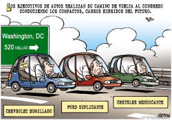 Ejecutivos de Autos regresan a Washington /  by RJ Matson