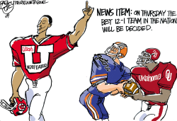 Real National Champion by Pat Bagley
