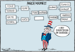 March Madness  by Bob Englehart