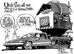 Uncle Sam Owns GM by John Darkow