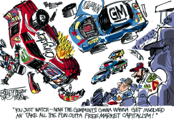 GM and Chrysler by Pat Bagley