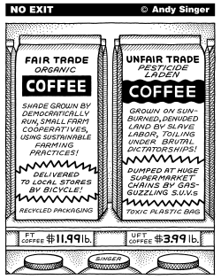 Fair Trade Coffee by Andy Singer