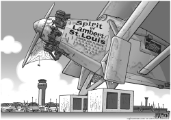 Local-MO Fewer Flights Out Of St. Louis Airport by RJ Matson