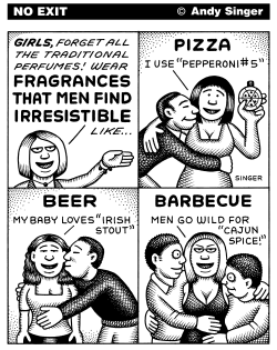 Fragrances that Attract Men by Andy Singer