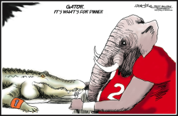 Bama Beats Florida by J.D. Crowe